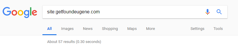 how to see if my site is on google 2